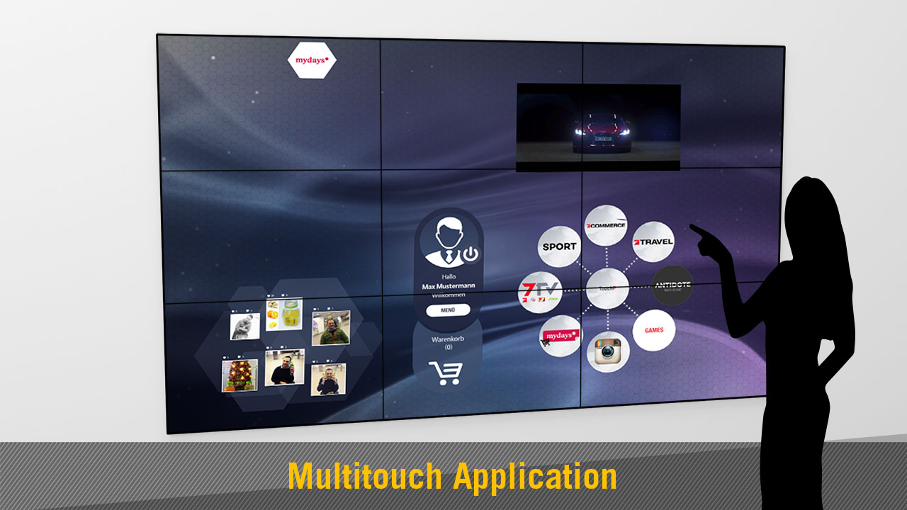 Multitouch Application