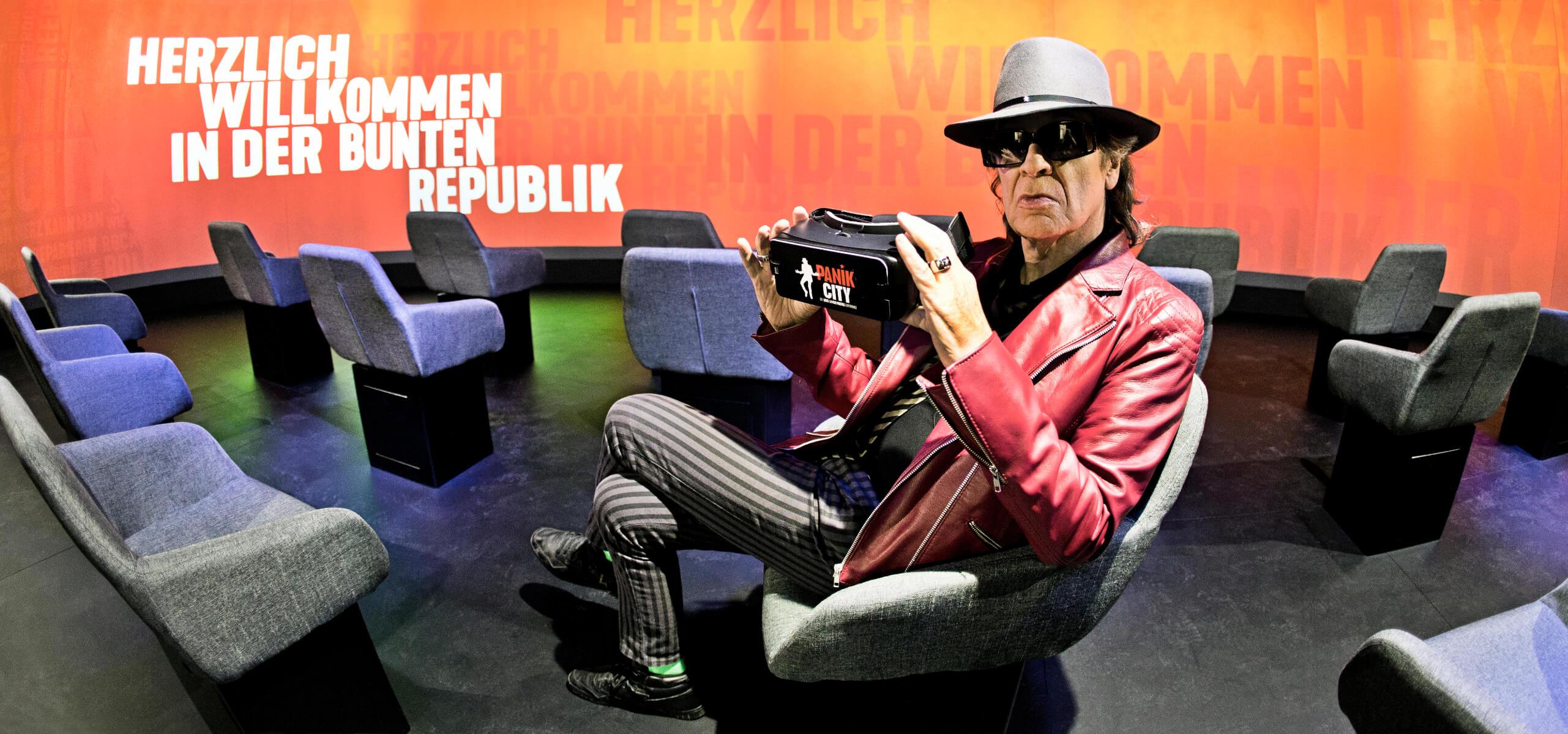 Lindenberg in the VR Cinema